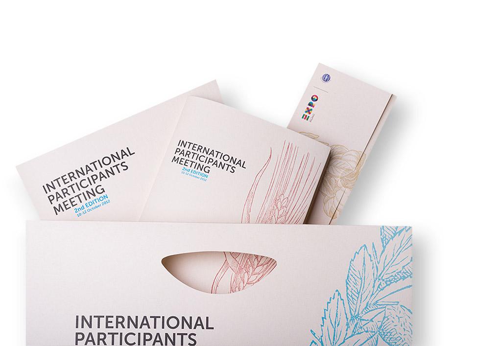 Materiali cartacei EXPO